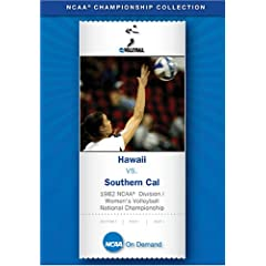 1982 NCAA(R) Division I Women's Volleyball National Championship