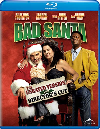 Bad Santa - The Unrated Version and Director's Cut (Unrated) [Blu-ray]