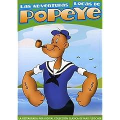 Adventuras Locas De Popeye (Spanish)