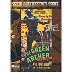 The Green Archer Restored 15 Chapter Serial