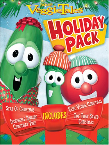 Veggie Tales Holiday Gift Pack