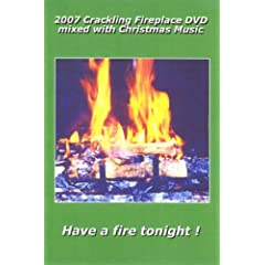 2007 Carckling Fireplace DVD mixed with Christmas Guitar Music