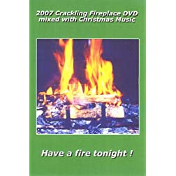 2007 Carckling Fireplace DVD mixed with Christmas Guitar Music