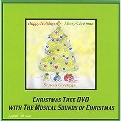 Christmas Tree DVD with the Musical Sounds of Christmas