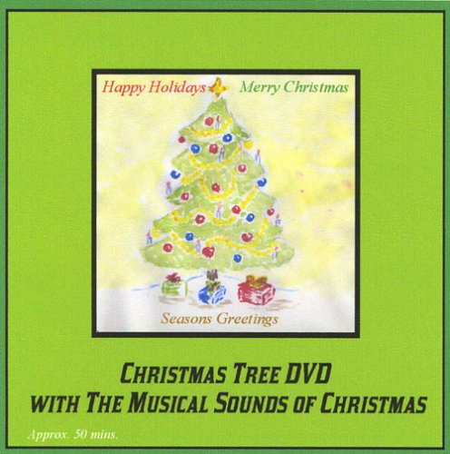 Christmas Tree DVD with the Musical Sounds of Christmas