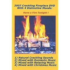 2007 Crackling Fireplace 4 DVD Set