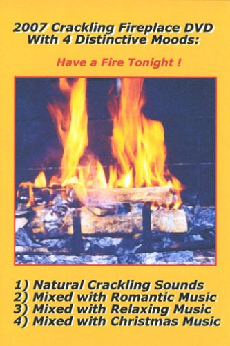 2007 Crackling Fireplace 4 DVD Set