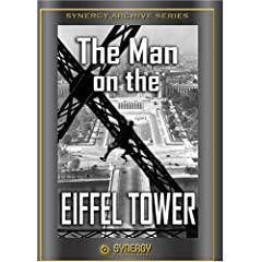 Man on the Eiffel Tower