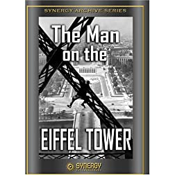 Man on the Eiffel Tower