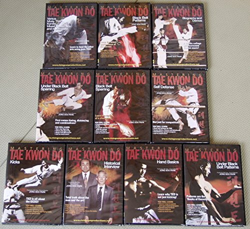Mastering Tae Kwon Do 10 DVD Standard Edition Box Set Park