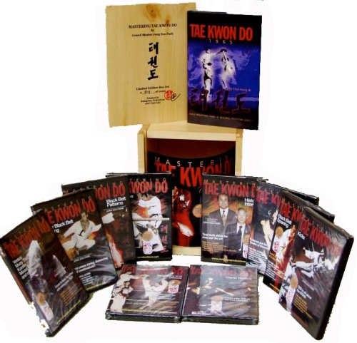 Mastering Tae Kwon Do Limited Edition Wood box set Park