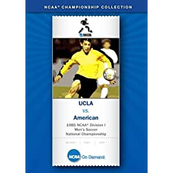 1985 NCAA(R) Division I Men's Soccer National Championship - UCLA vs. American