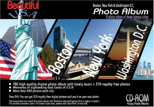CD-ROM  Beautiful U.S.A.  Photo Album