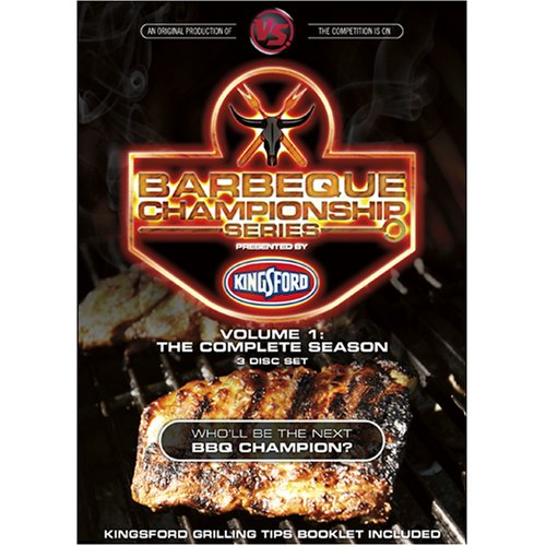 Versus BBQ Championship Series Volume 1: The Complete Season (3-Disc Set)