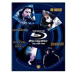 The Best of Blu-ray, Volume Two (The Last Samurai / The Phantom of the Opera / Unforgiven / The Fugitive) [Blu-ray]