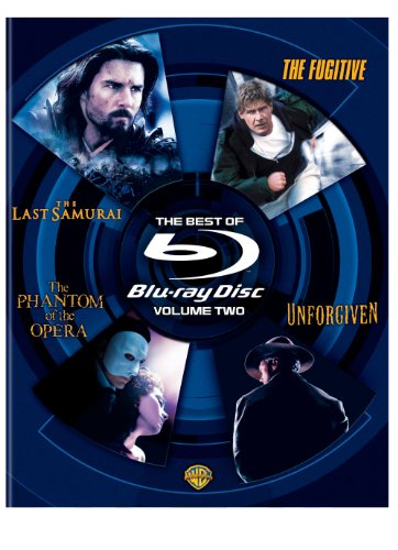 The Best of Blu-ray, Volume Two (The Last Samurai / The Phantom of the Opera / Unforgiven / The Fugitive) [Blu-ray]