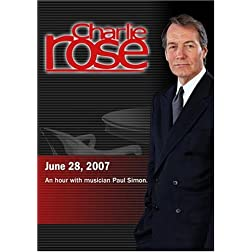 Charlie Rose - Paul Simon (June 28, 2007)