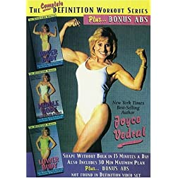 Joyce Vedral: Complete Definition Workout Series Plus Bonus Abs