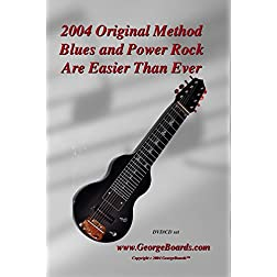 Lap Steel Guitar GeorgeBoards 2004 Original Blues and Power Rock Are Easier Than Ever (PAL)