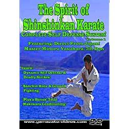 The Spirit of Shinshinkan Karate Volume 1