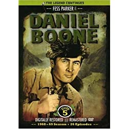 Daniel Boone: the Television Series Season 5