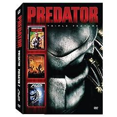 Predator Triple Feature (Predator/ Predator 2/ AVP: Alien vs. Predator)