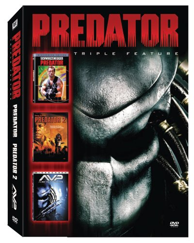 Predator Triple Feature (Predator/ Predator 2/ AVP: Alien vs. Predator)