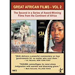 Great African Films, Vol. 2: Tasuma, The Fighter and Sia, The Dream Of the Python