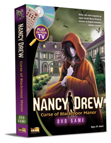 Nancy Drew: Curse of Blackmoor Manor (DVD Game)