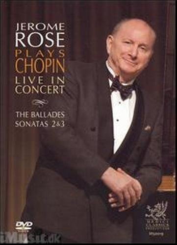 Jerome Rose Plays Chopin Live in Recital