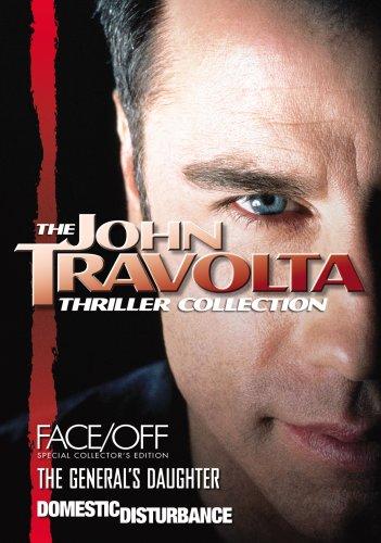 John Travolta Thriller Collection (Domestic Disturbance, Face/Off - SCE, The General's Daughter)