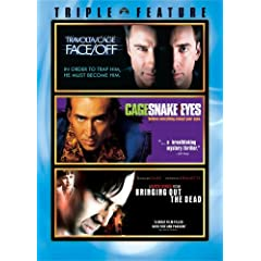 Nicolas Cage Triple Feature (Face/Off, Snake Eyes, Bringing Out the Dead)