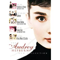 Audrey Hepburn 5-Pack (Funny Face - SCE, Breakfast at Tiffany's, Roman Holiday, Sabrina - 1954, Paris When it Sizzles)
