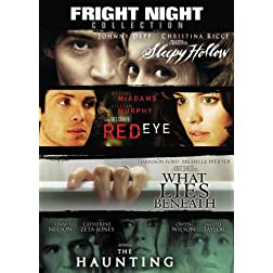 Fright Night Collection (Red Eye, Sleepy Hollow, The Haunting, What Lies Beneath)