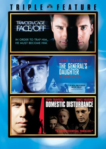 John Travolta Triple Feature (Face/Off, The General's Daughter, Domestic Disturbance)