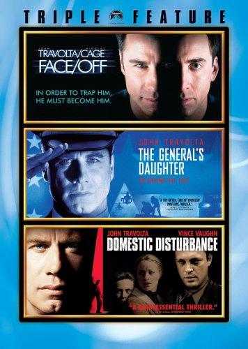 John Travolta Triple Feature (Face/Off, The General's Daughter, Domestic Disturbance)