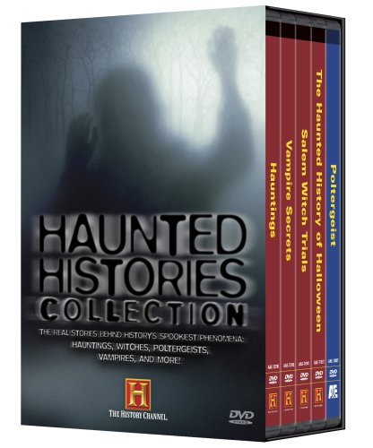 Haunted History - Haunted Histories Collection (Hauntings / Vampire Secrets / Salem Witch Trails / The Haunted History of Halloween / Poltergeist) (History Channel)
