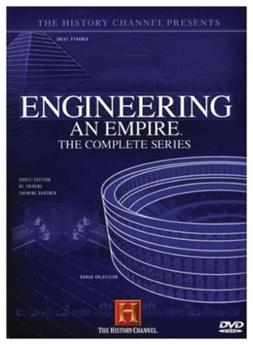The History Channel Presents Engineering an Empire - The Complete Series (Collector's Edition)