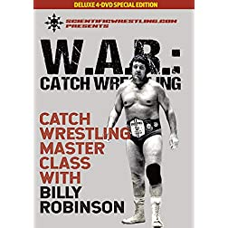 WAR Catch Wrestling: Billy Robinson complete 4 disc set