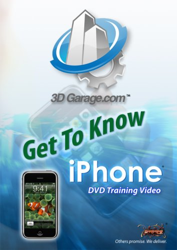 3D GARAGE Get To Know iPhone (iPhone Training DVD)
