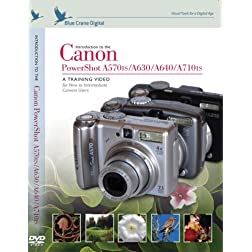 Introduction to the Canon PowerShot A570is / A630 / A640 / A710is