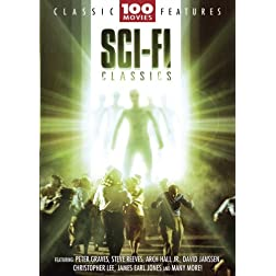 Sci-Fi 100 Movie Pack