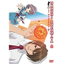 The Melancholy of Haruhi Suzumiya, Volume 3 (Limited Edition)