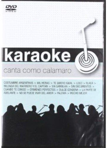 Karaokes Canta Como Calamaro