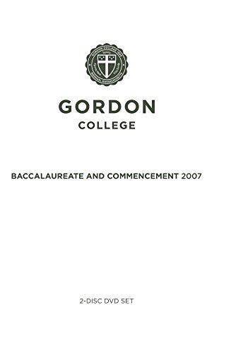 Gordon College Commencement Services 2007