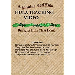A Real Hula - Hula Teaching Video