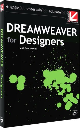 Class on Demand: Dreamweaver for Designers: Adobe Educational Training Tutorial DVD