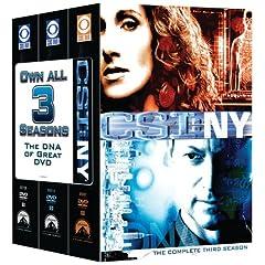 CSI: NY 3 Season Pack
