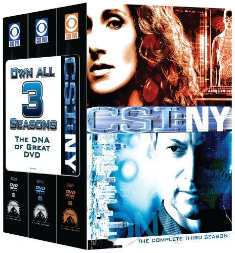 CSI: NY 3 Season Pack