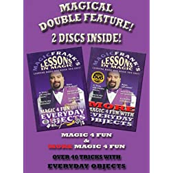 MAGICFRANK'S Lessons in Magic - Magic 4 Fun & More Magic 4 Fun Combo Pack